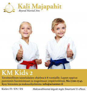 KM KIDS 2: Ninjas from 6 to 8 years old