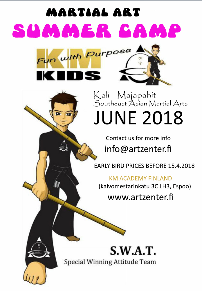 KM Kids SUMMER CAMP 2018