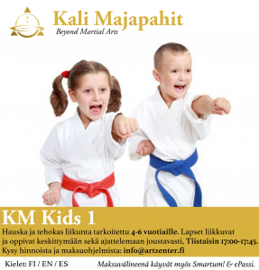 KM KIDS 1: little Ninjas from 4 to 6 years old
