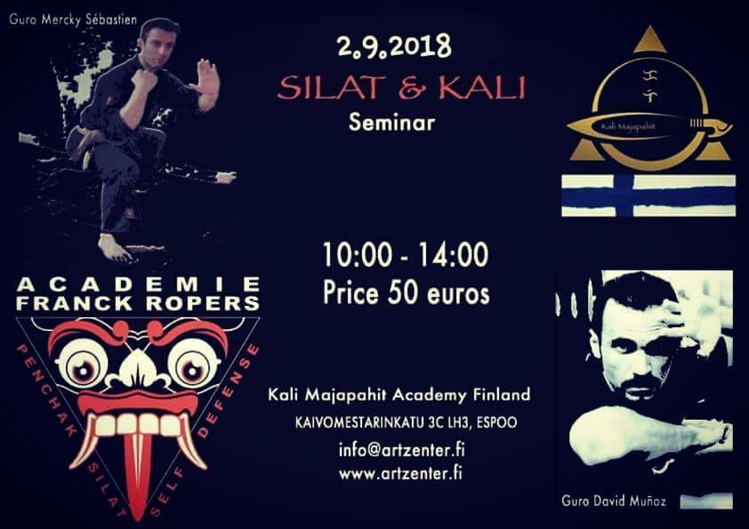 SILAT & KALI Seminar